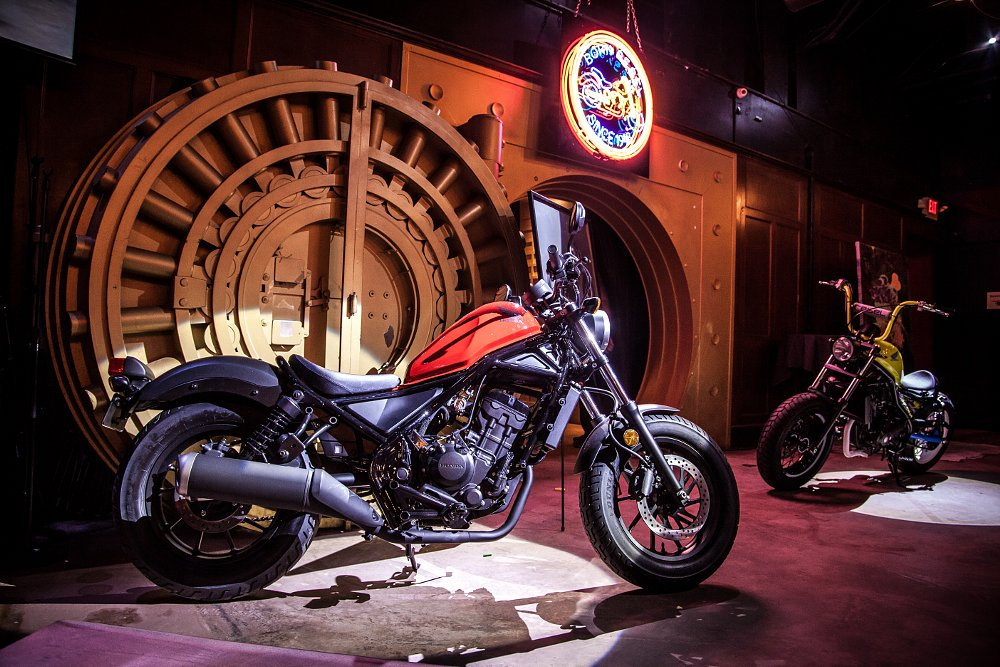 Honda Rebel 300 and Rebel 500 introduced at California launch