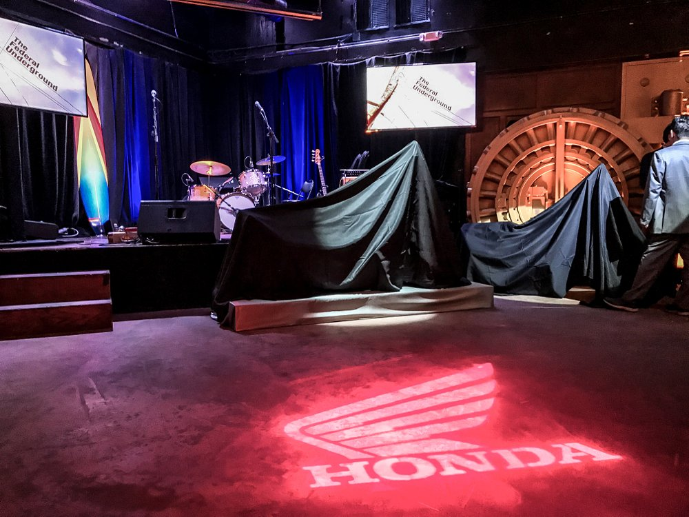 Honda Rebel 300 and 500 Launch party