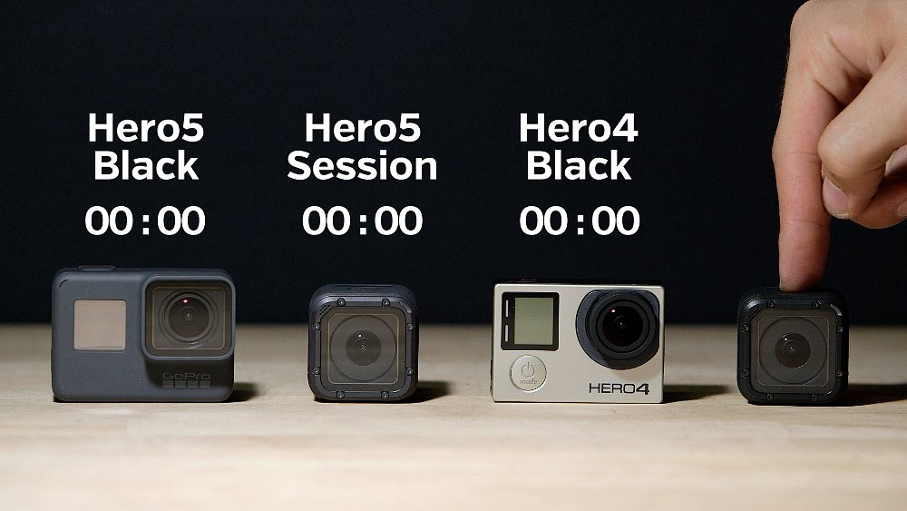 GoPro Hero5 battery life test