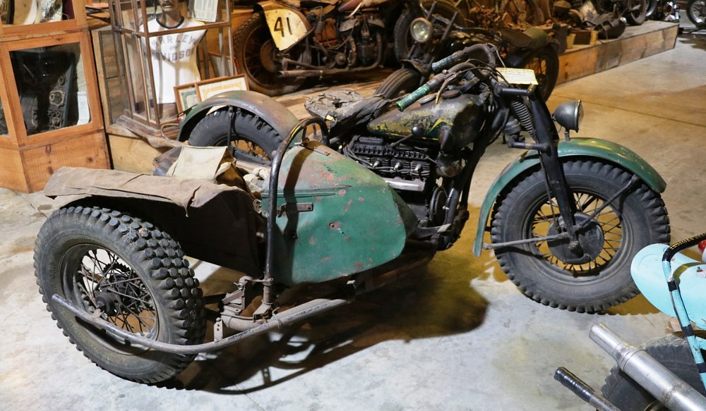 1938 Indian Jack Pine Enduro racer