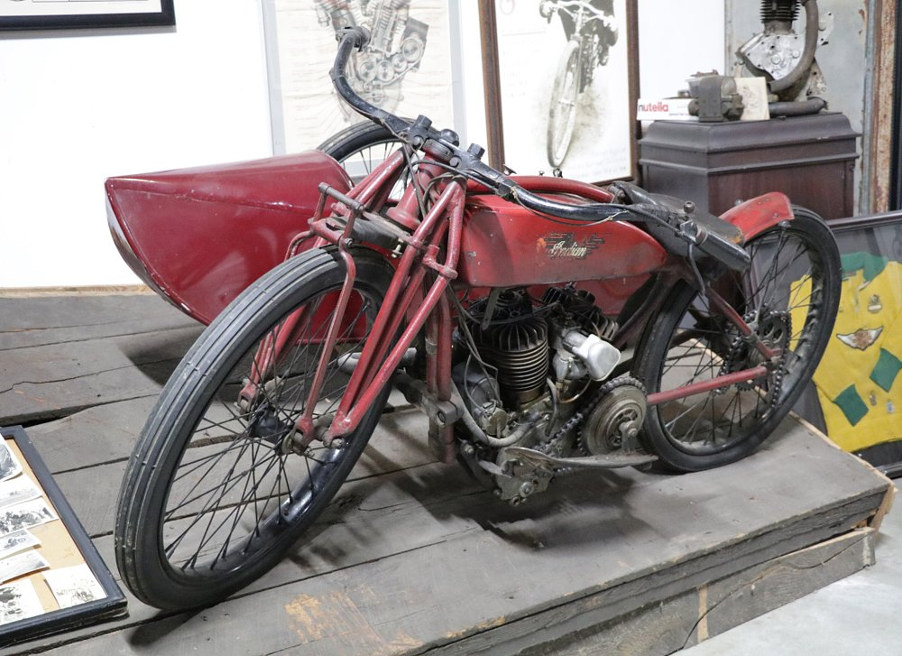 1920 Indian Daytona with Flxi sidecar