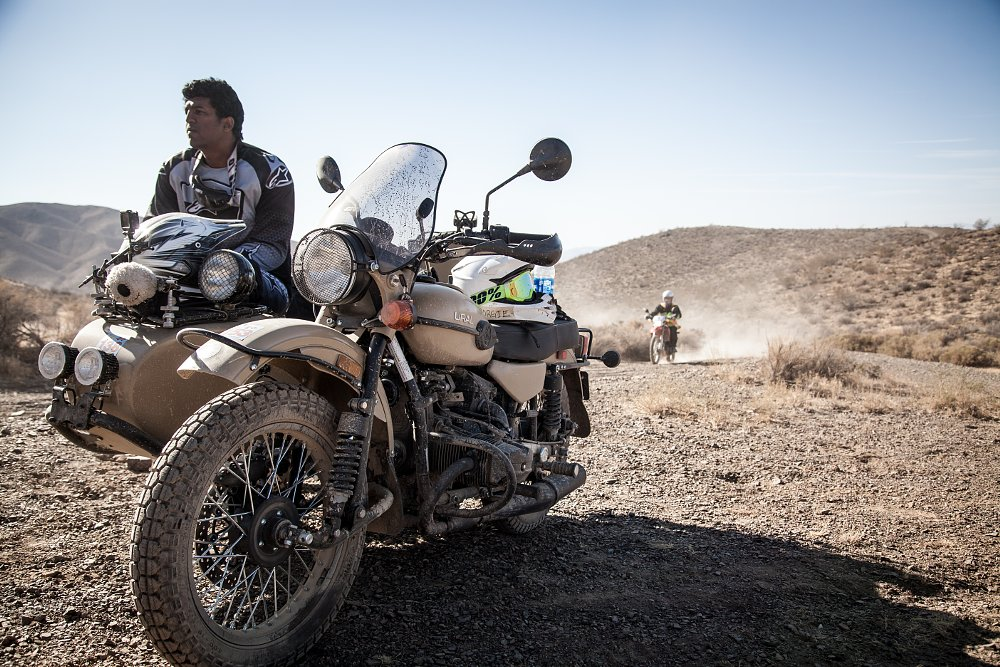 Surviving L.A. to Barstow to Vegas on a Ural Abhi