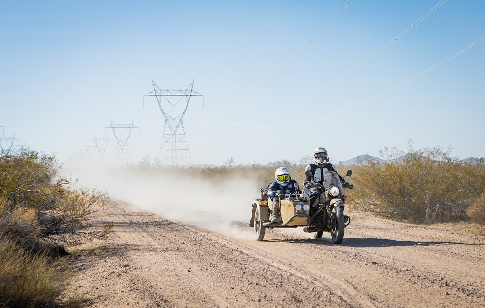 Surviving L.A. to Barstow to Vegas on a Ural Abhi and Spurgeon Dunbar