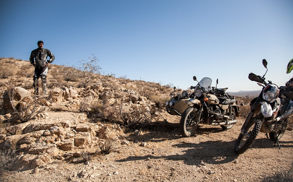 Surviving L.A. to Barstow to Vegas on a Ural