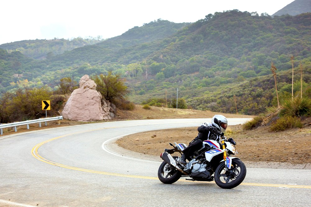 BMW G 310 R in the Santa Monica Mountains