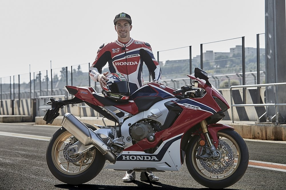 Nicky Hayden and the 2017 Honda CBR1000RR