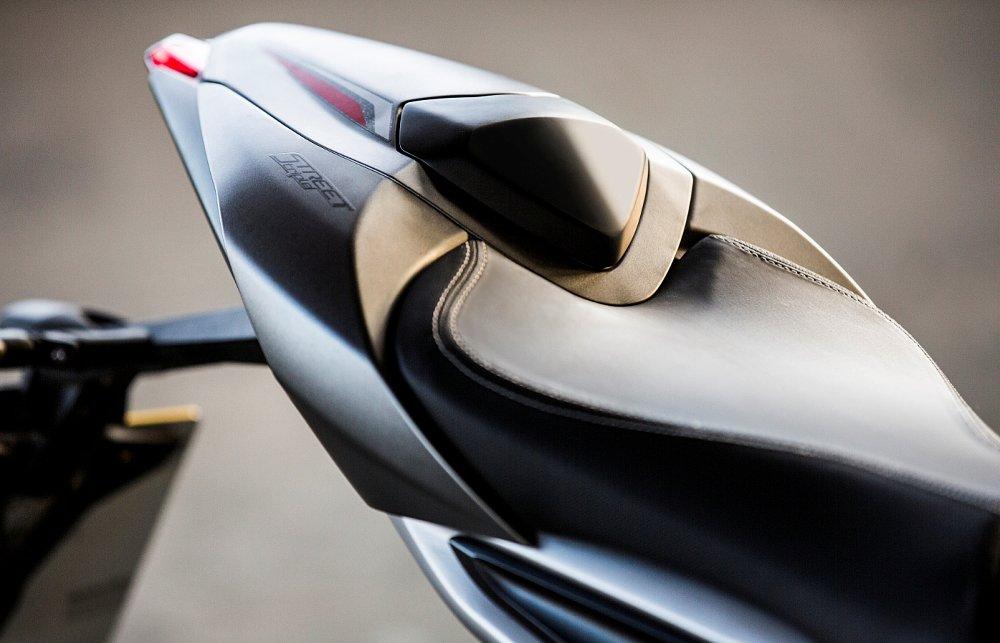 2017 Triumph Street Triple RS seat cowl