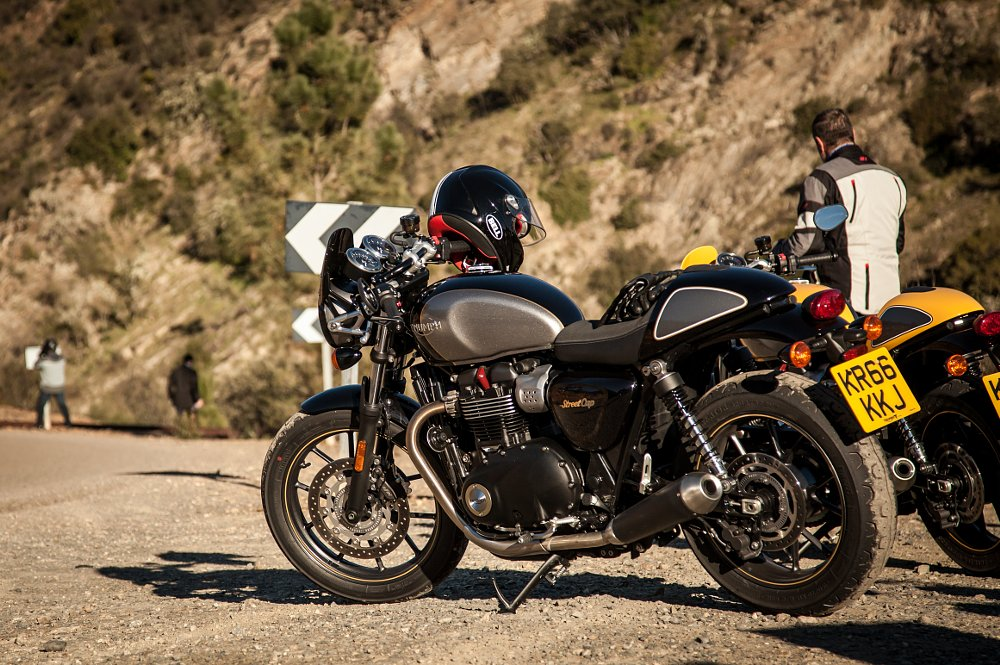 Triumph Street Cup First Ride Review