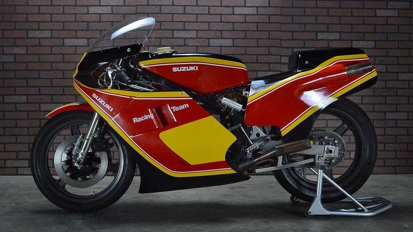 Suzuki RGB500 race bike