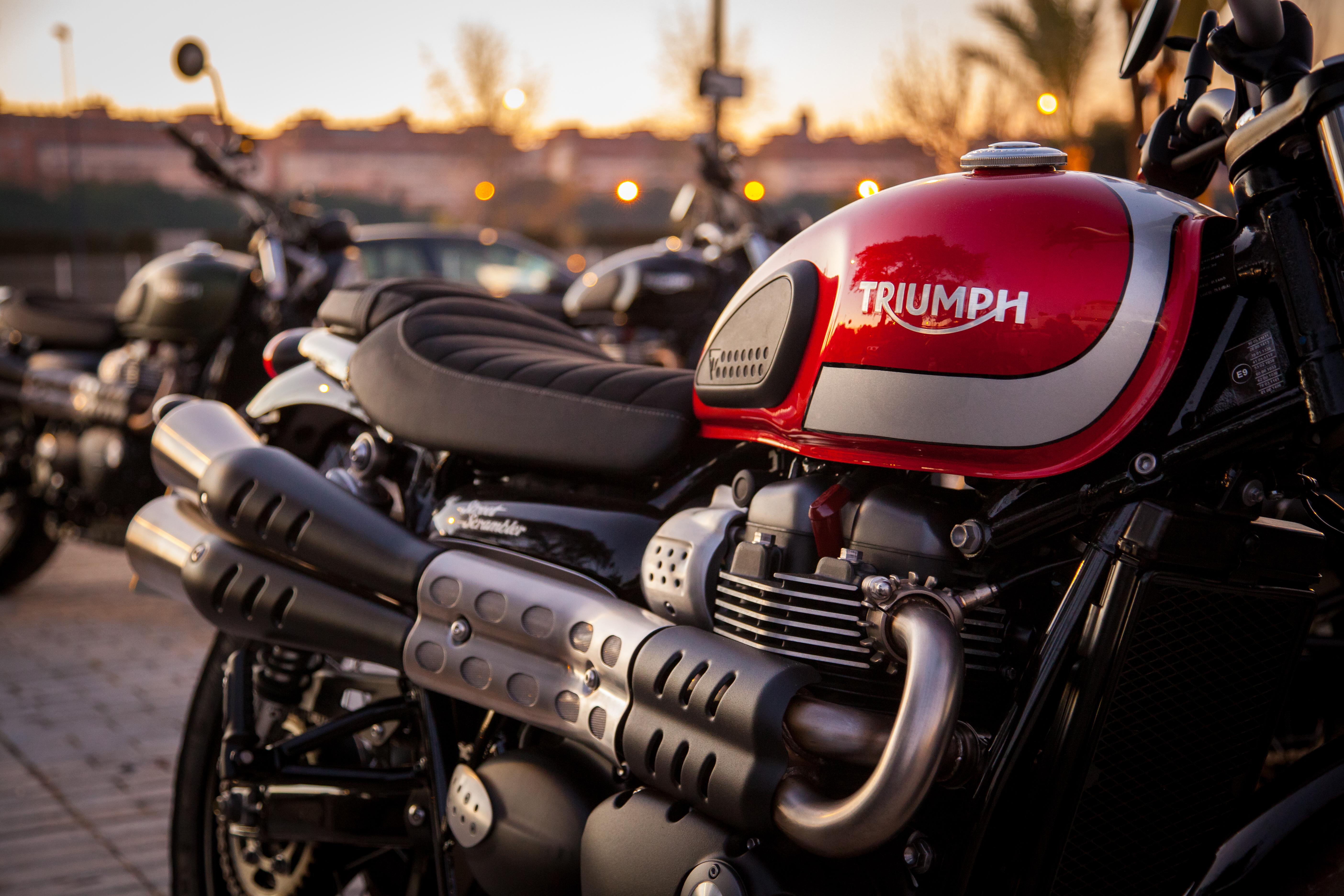 Marvelous 2017 Triumph Scrambler First Ride Review Revzilla Machost Co Dining Chair Design Ideas Machostcouk