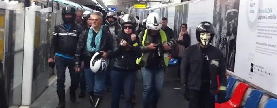 The French federation of angry bikers is still angry