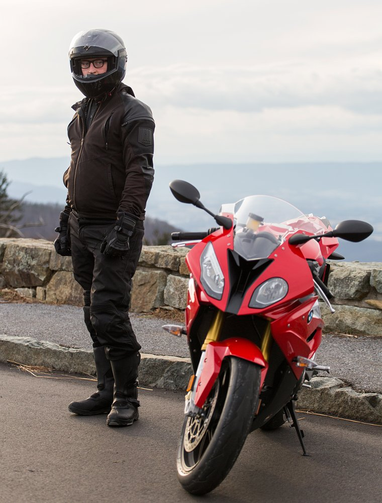 BMW S 1000 RR on Skyline Drive