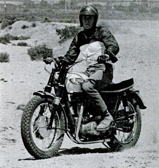 Steve McQueen Triumph Bonneville