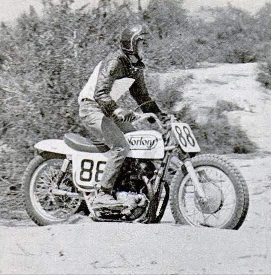Steve McQueen Norton Motorcycle