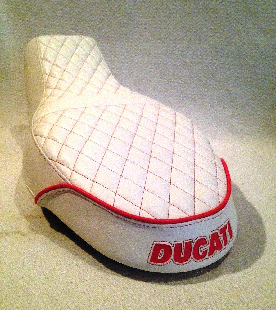 Ducati custom seat