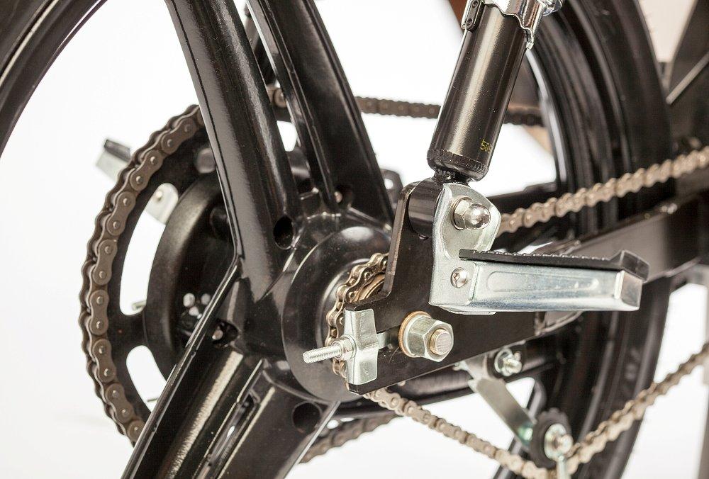 Monday Motorbikes M1 chain final drive