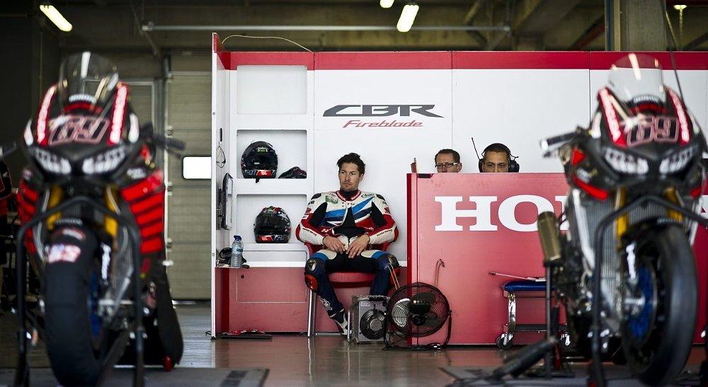 Nicky Hayden and the Honda CBR1000RR