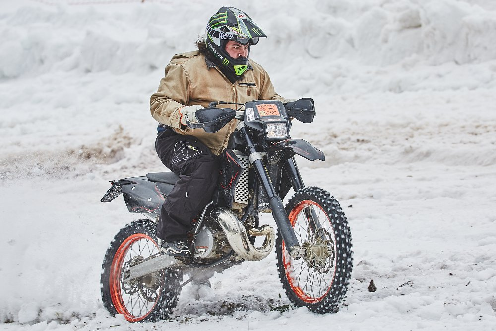 Lem in the snow