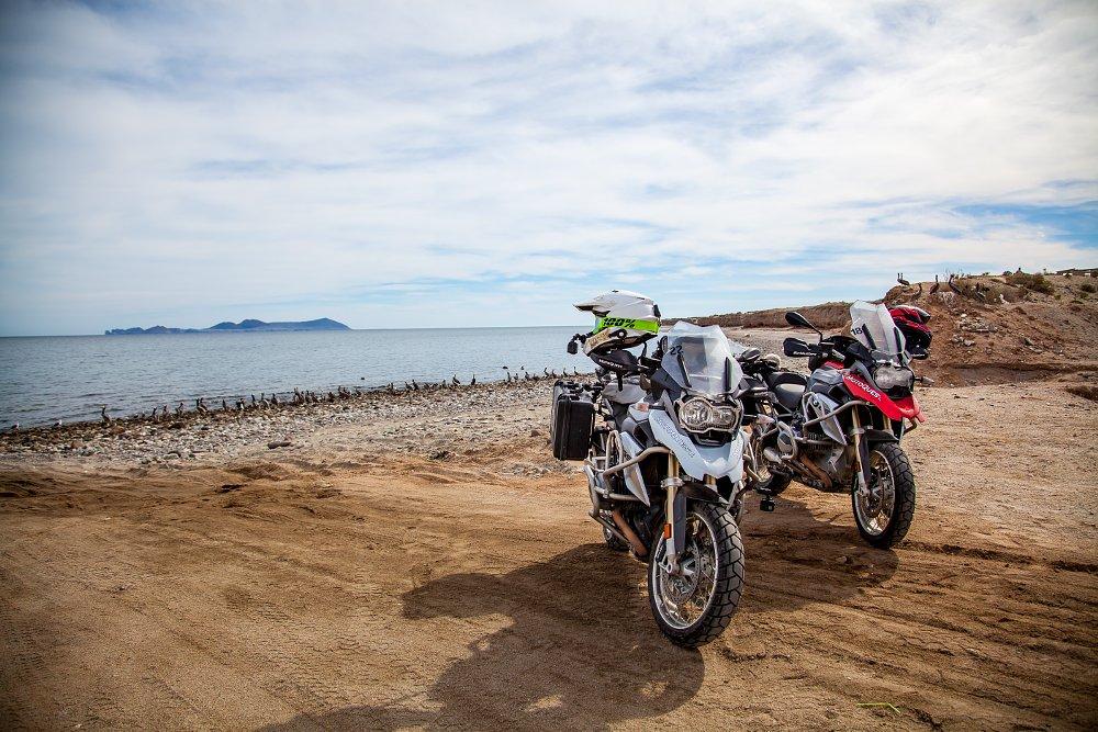 MotoQuest BMW R 1200 GSes in Baja