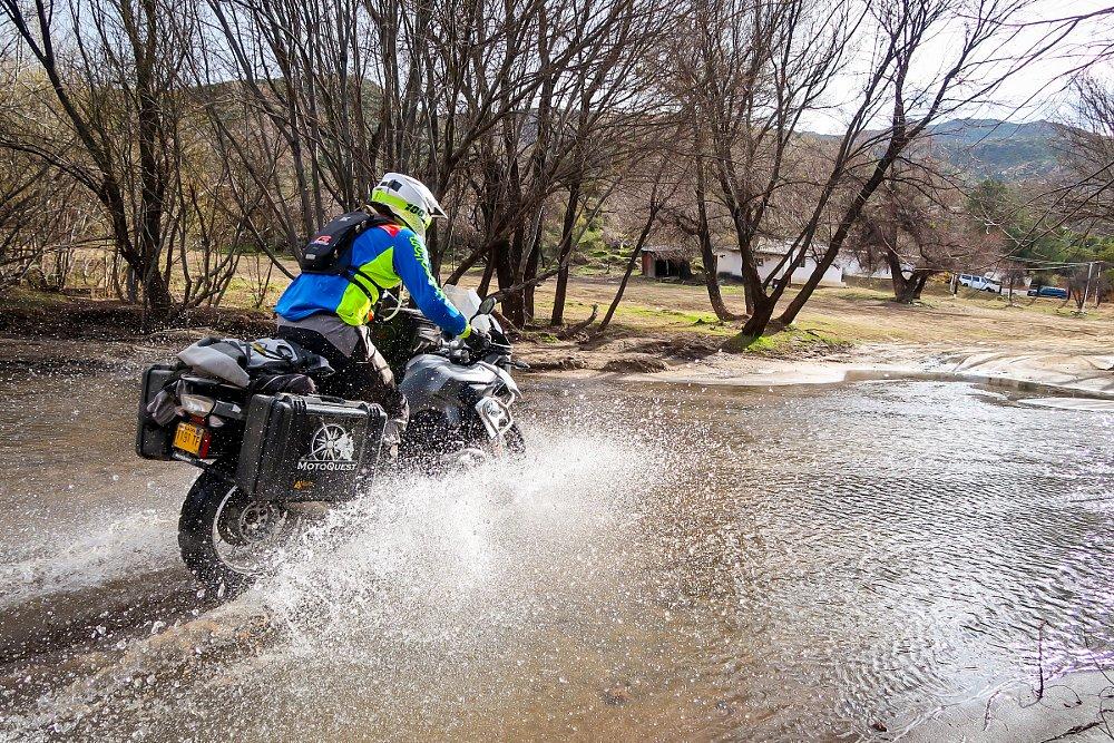Spurgeon Dunbar Water Crossing for Mike's Sky Ranch in Baja