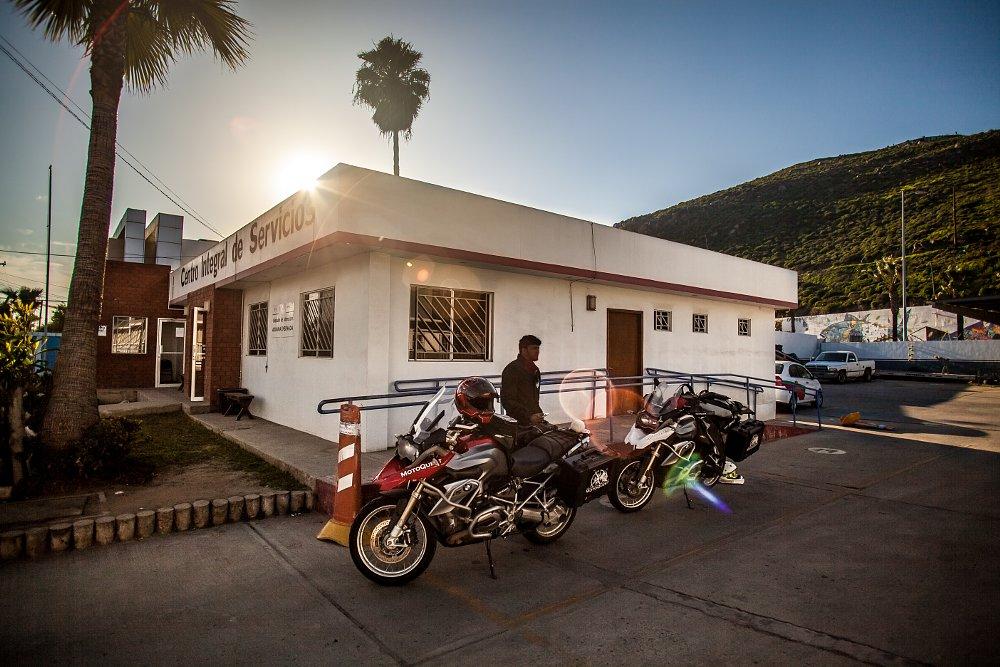 BMW R 1200 GSes in Baja visas in Ensenada