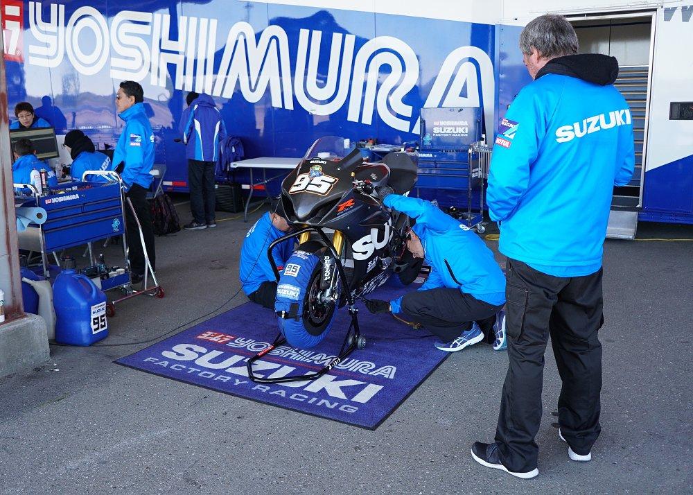Yoshimura Suzuki team