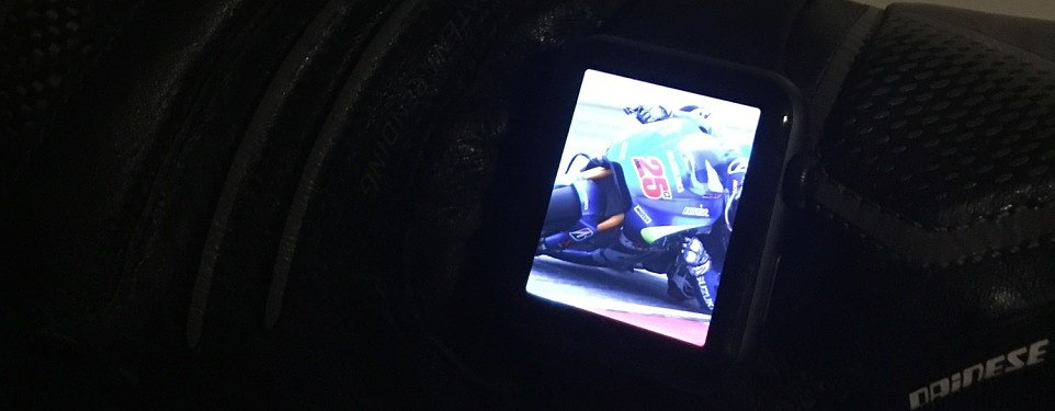 Why the Apple Watch is a great motorcycle accessory