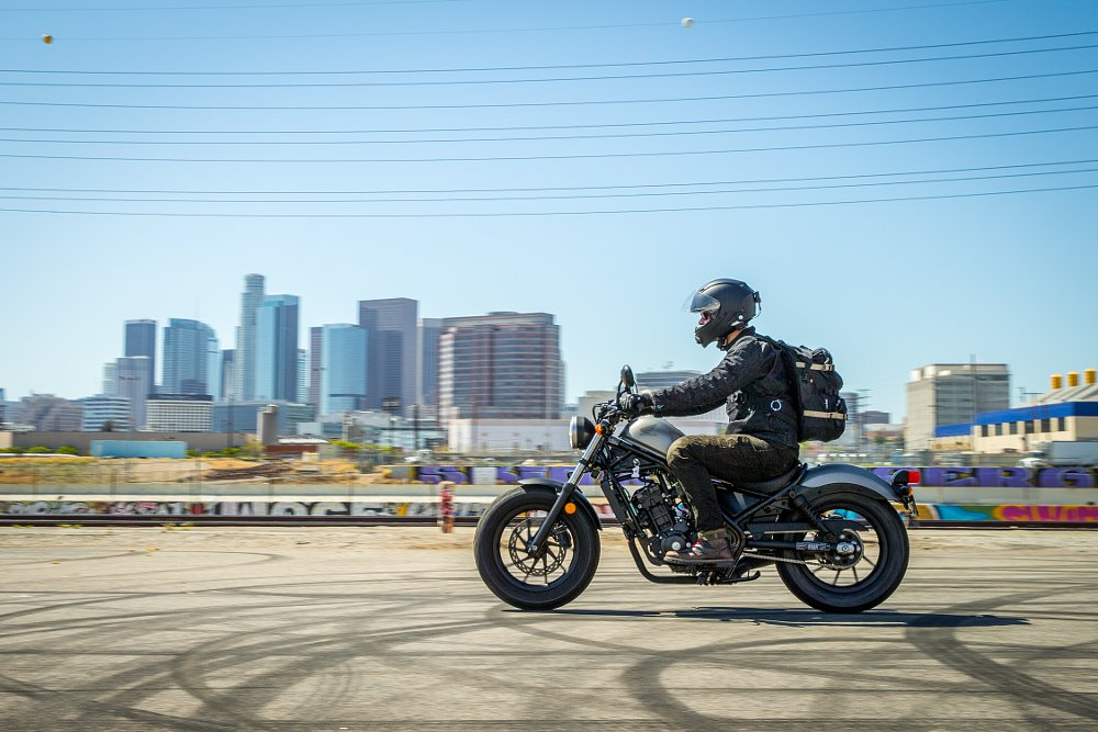Honda Rebel first ride motorcycle review