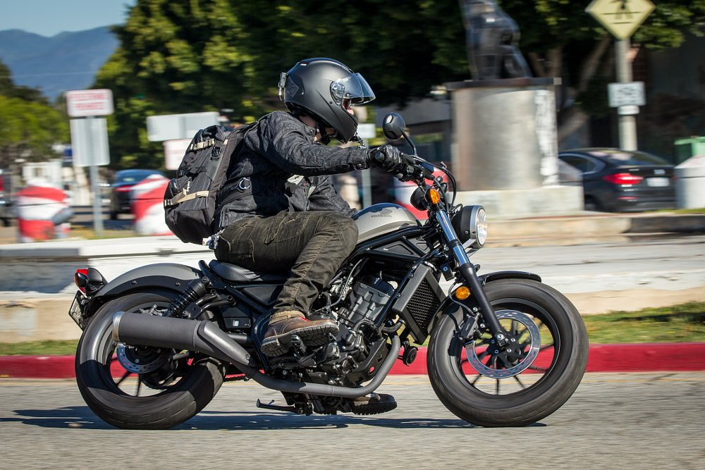 Honda Rebel First Ride Review Spurgeon Dunbar