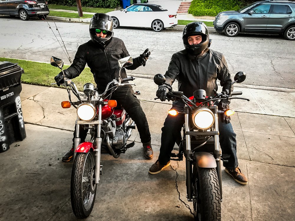 Honda Rebel First Ride Review Spurgeon Dunbar and Lemmy