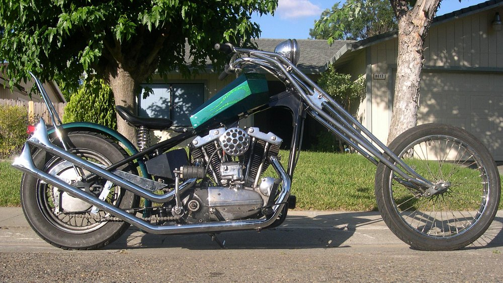 David Seale's Ironhead chopper