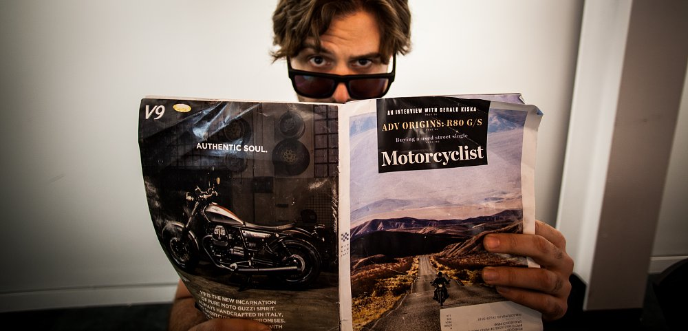 Motorcyclist magazine reimagined