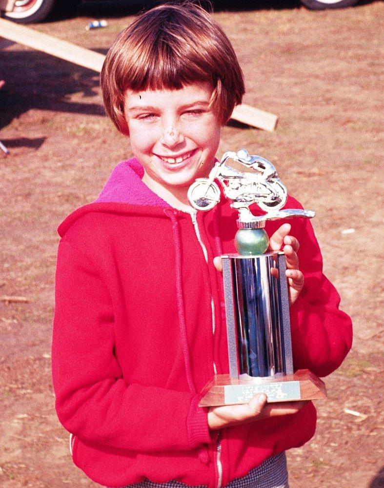 Debbie Evans at age 9