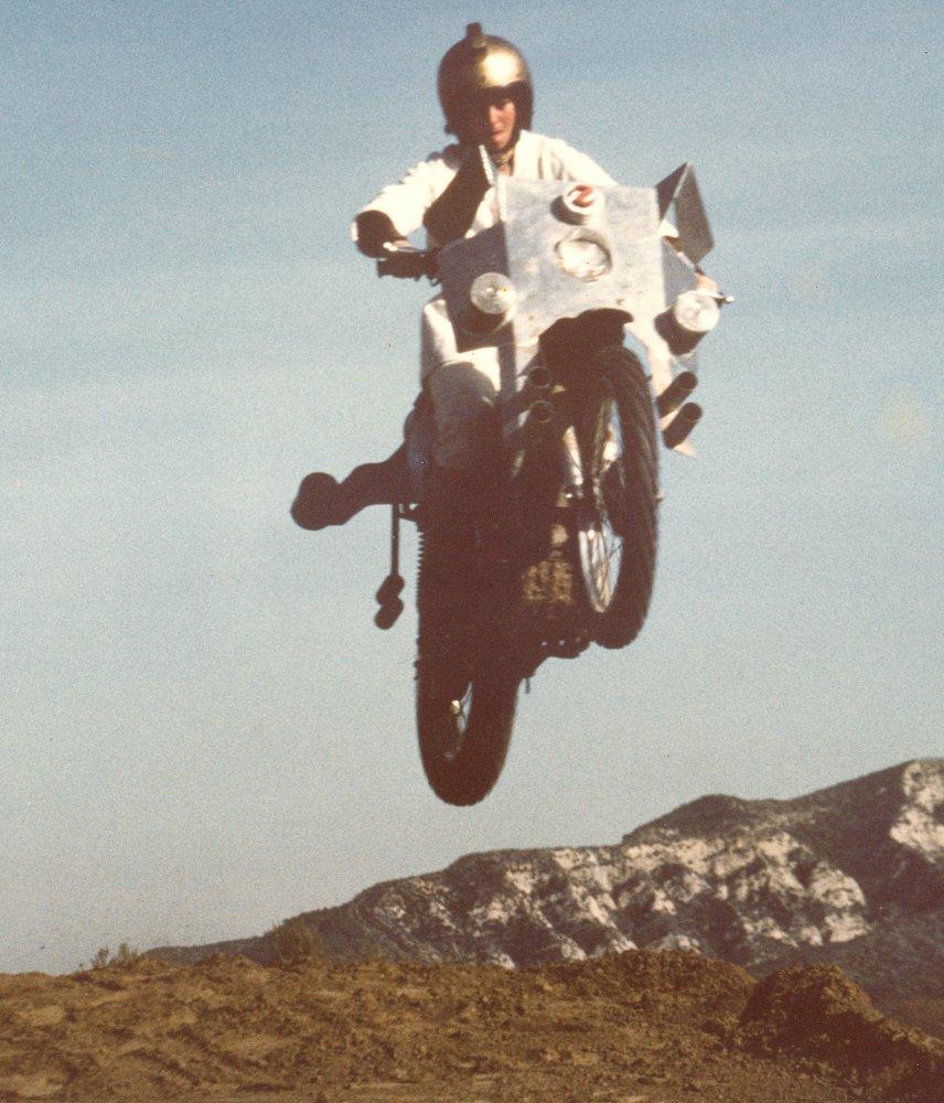 Deathsport stunt