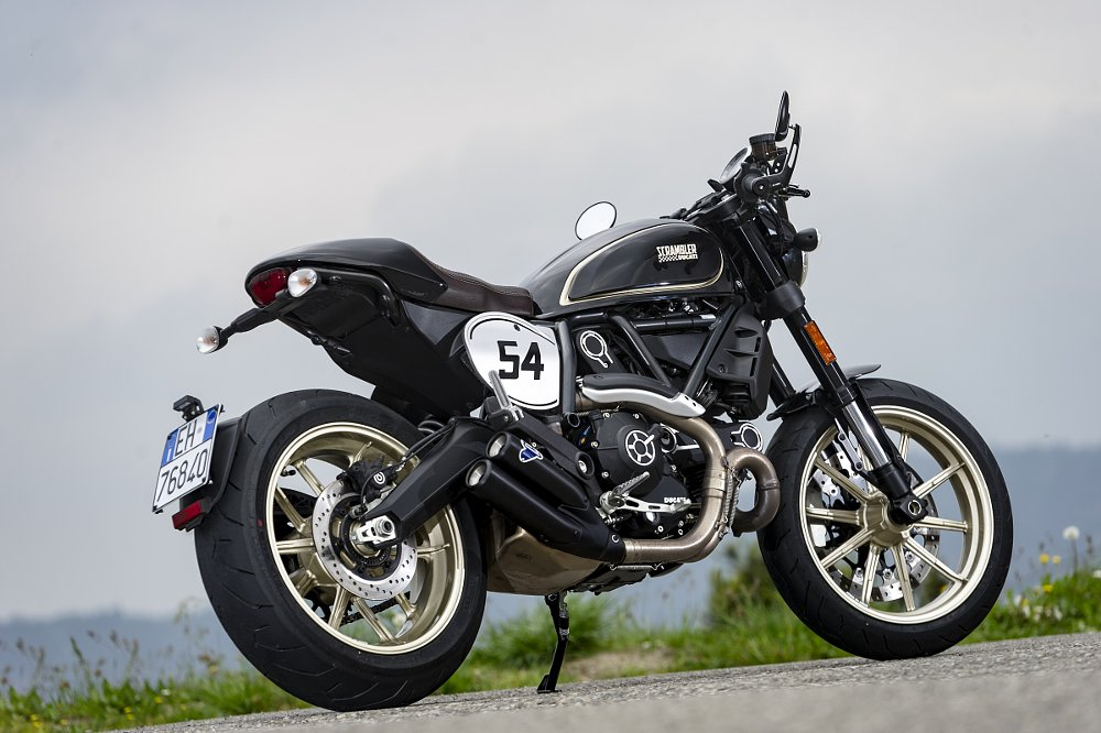 ducati scrambler cafe racer first ride review - revzilla