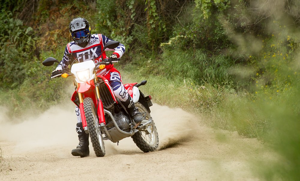 Riding the Honda CRF250L