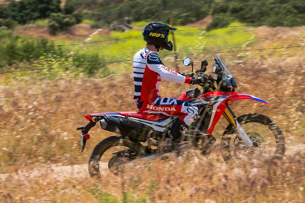 Riding the Honda CRF250L Rally
