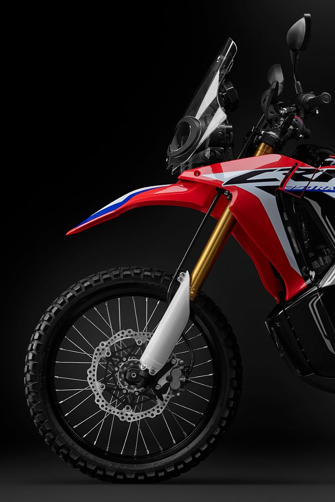 Honda CRF250L Rally front end