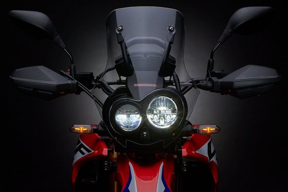 Honda CRF250L Rally headlights