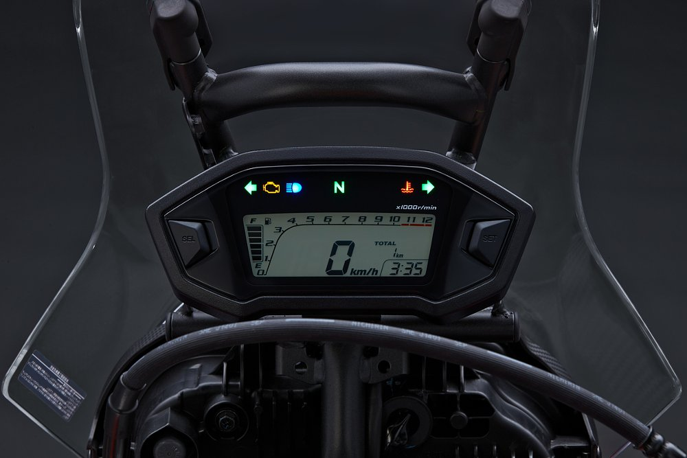 Honda CRF250L Rally dash