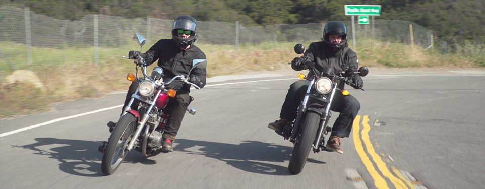 Starting a rebellion: Big men and small bikes with the Honda Rebel from then to now