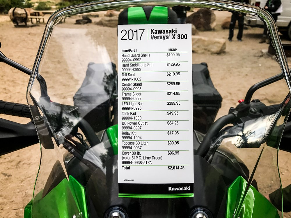 Kawasaki Versys-X 300 Accessories