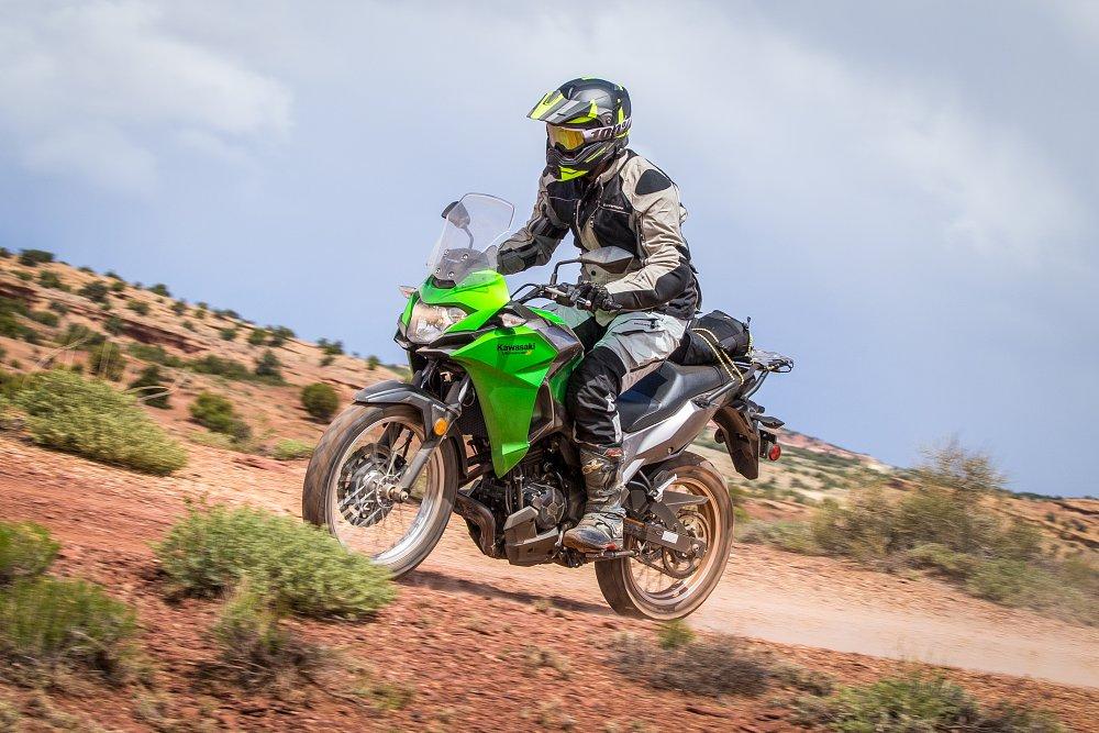 Kawasaki Versys-X Off-Road Spurgeon Dunbar