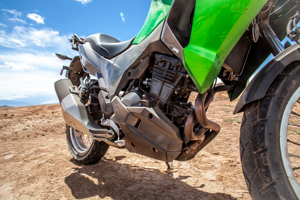 Kawasaki Versys-X 300 Off-Road Exhaust