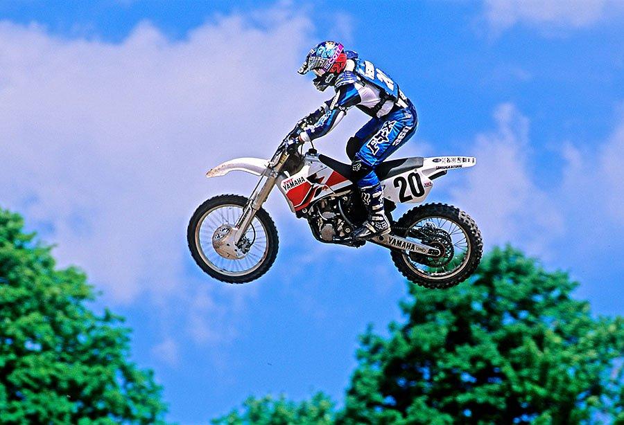 Doug Henry on the Yamaha YZM400F