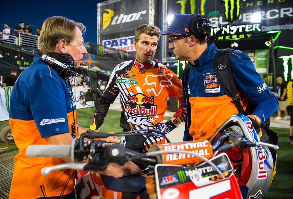 Roger DeCoster and Ryan Dungey
