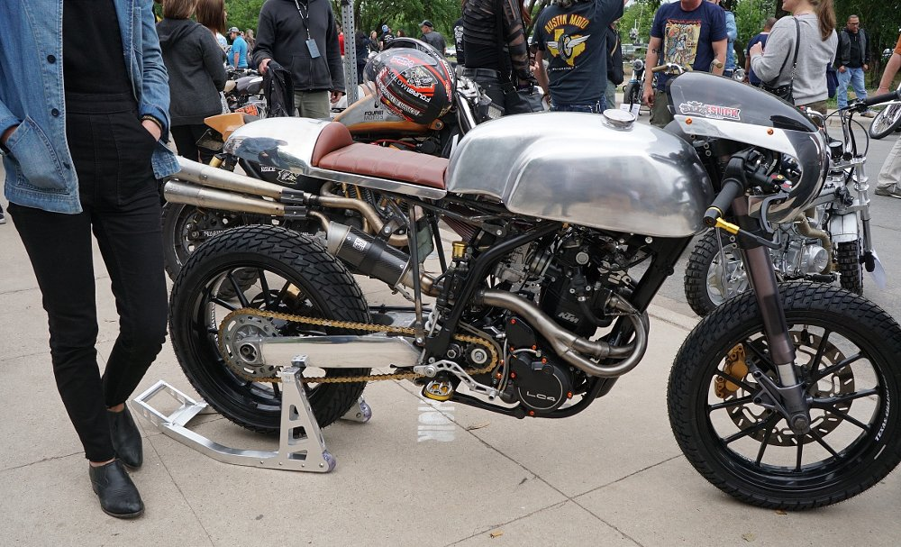 KTM-powered café racer