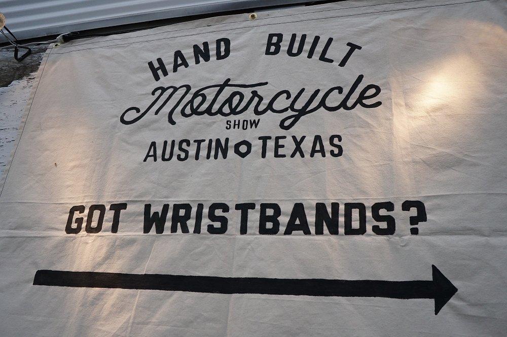 Got wristbands? sign