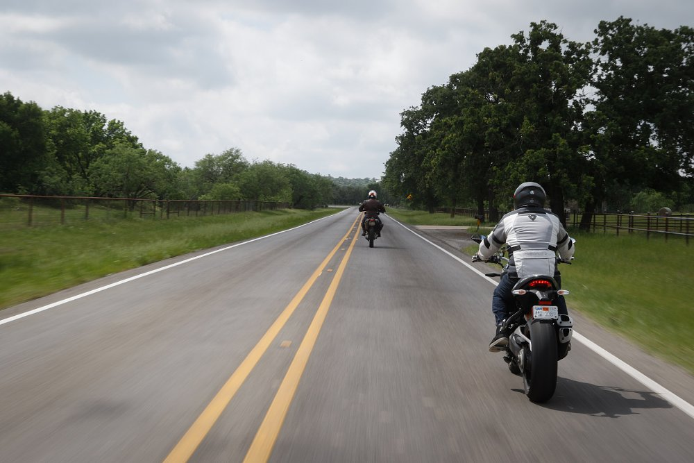 motorcycle ride in Texas Hill Country