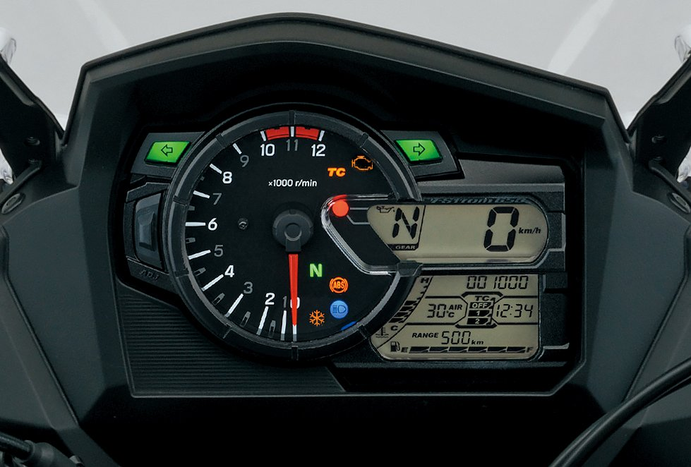 Suzuki V-Strom 650 instrument panel
